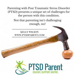 What To Do When Parenting With PTSD Sucks | PTSD Parent