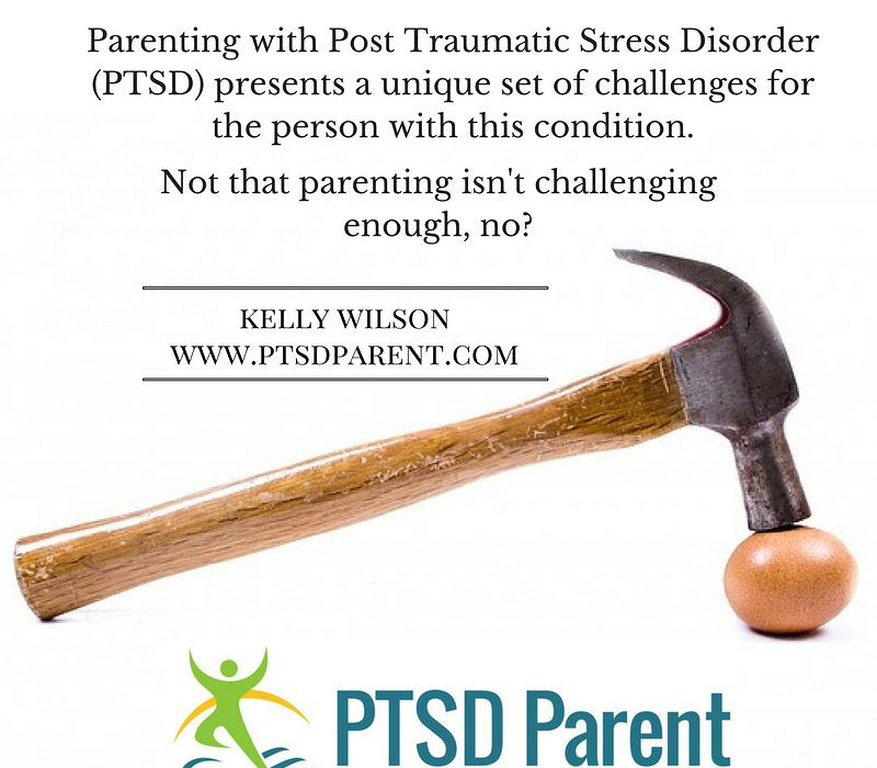 What To Do When Parenting With PTSD Sucks