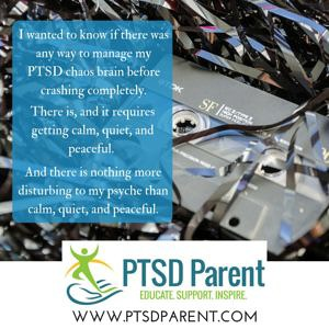 How to Let #Grief to Break Through the #PTSD Chaos | PTSD Parent
